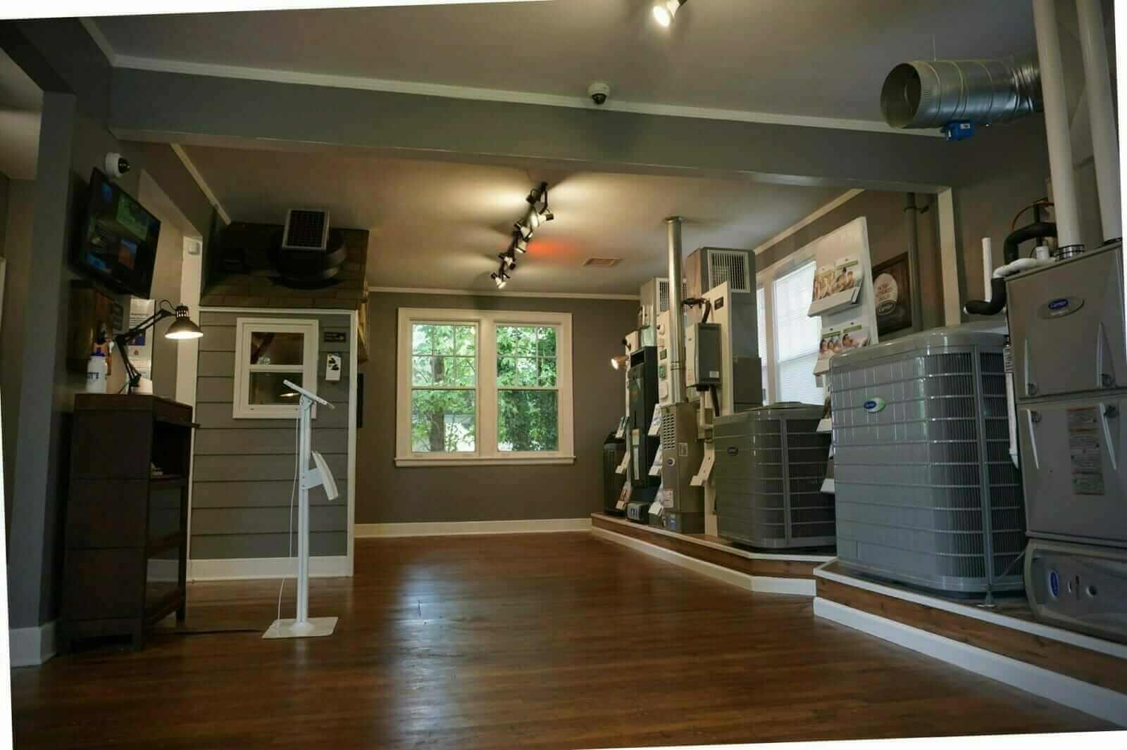 Our HVAC Showroom