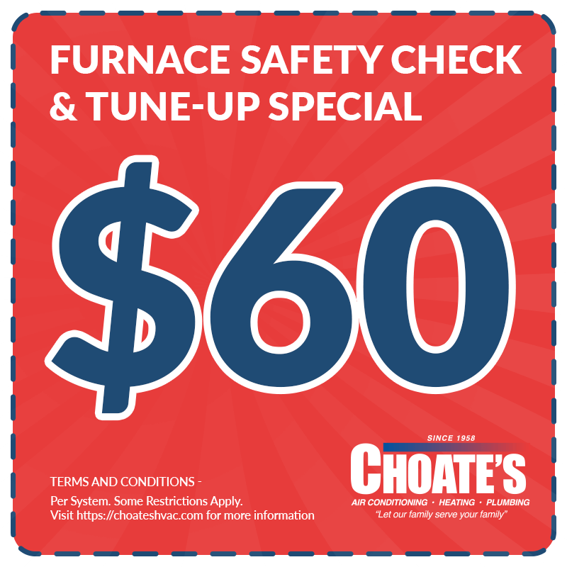 Furnace Safety Check And Tuneup Special
